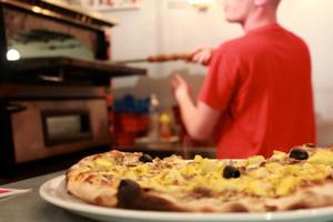 Pizzas à emporter